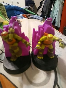 Raphael and Michelangelo TMNT toys