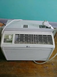 white LG window type air conditioner Brooklyn, 11208