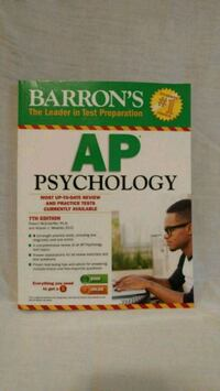 AP Psychology study guide Montclair, 22025