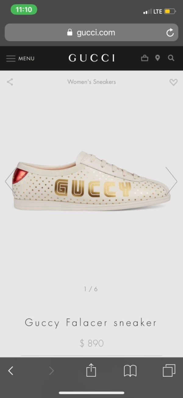 8ef316c69d8c Used GUCCI (GUCCY) SHOES ORIGINAL SIZE 10 for sale in Maywood - letgo