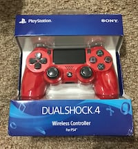 red Sony PS4 Dualshock 4 wireless controller Mc Lean, 22102