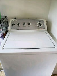 white top-load clothes washer and dryer Rochester, 03867