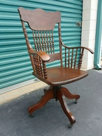 brown wooden windsor rocking chair Roswell, 30076