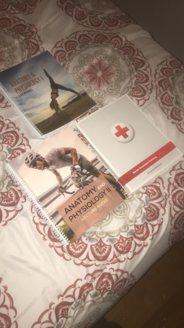nursing assistant training third edition american red cross anatomy and  physiology 1 & 2 books
