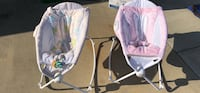 baby's white and pink bouncer Modesto, 95351
