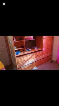 Bunk bed with desk and trundle  New Boston, 03070
