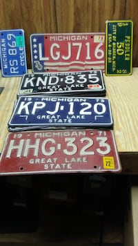 from $50 to $5 michigan license plates Sterling Heights