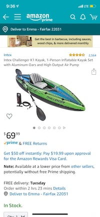 Kayak only used once