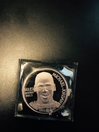Michael Jordan limited edition 1 Troy ounce silver coin numbered edition  Vaughan, L6A 4C9