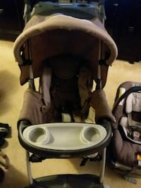 baby's black and gray stroller Alexandria, 22304