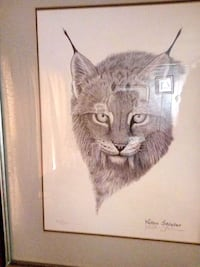 'signed prints by Ray Harm 4 total ( individual or as a group) $150  Big Spring, 40175