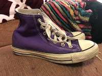 Purple converse shoes Surrey, V3W 5Z7