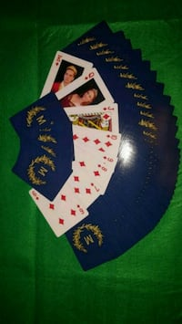 Personalized Playing Cards  Erin