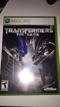 Transformers The Game Xbox 360 Çukurova, 01170