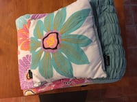 Teal and pink floral bedding 29 mi