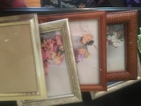 Assorted 8x10 frames. All for$20 or can be sold separately for $5 a piece