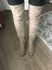 Over the knee boots, size 6 Alexandria, 22302