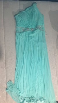 Women's teal sleeveless dress Houston, 77023