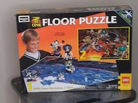 Vintage Lego Floor Puzzle Collectible and Rare BNIB  VIEW MY OTHER ADS Toronto