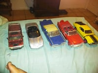 three assorted die-cast cars La Puente, 91744
