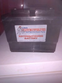 just bought last week at lkq auto salvage reconditioned car battery