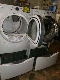 Whirlpool front load Washer and gas dryer set  Baltimore, 21223