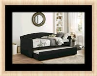 Daybed black free mattress and delivery  Ashburn, 20147