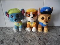 Paw Patrol TY stuffed Toys $10 PU Morinville Morinville
