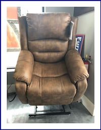 Power Assist, Power Motion And Lay Flat Recliner Saddle Wheat Ridge