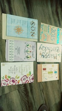6 new cards for birthday, Easter, etc  Cards are n Alexandria, 22304