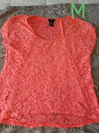 women's pink floral blouse Tampa, 33617