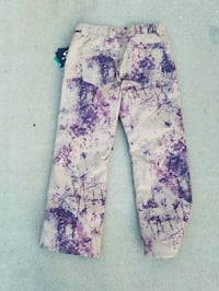 white and purple floral pants Lake Forest, 92610