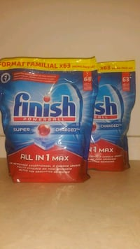 Finish All in 1 Max 63 Tabs Lave-Vaiselle Issy-les-Moulineaux, 92130