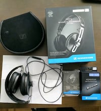 Sennheiser HD1  wired headphones APPLE ANDROID cables Toronto, M6H 2W9