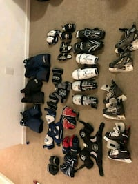 Various junior hockey equipment-great shape Mississauga, L5G 2Z9