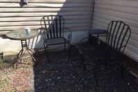 Rod iron chairs plus tables