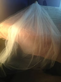 Wedding veil, 2 tiers, floor length Stafford, 22556