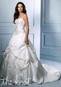 Alfred Angelo Wedding Dress STYLE #758C SIZE 12 Baltimore