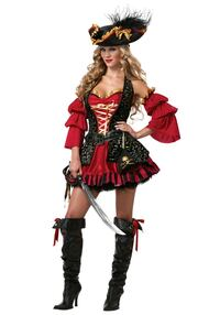 Eye candy Spanish pirate deluxe halloween costume Los Angeles, 91343