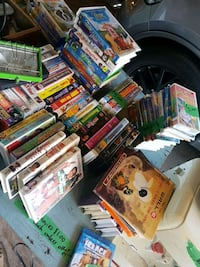 VHS tapes 1 dollar each or all for 20 Surrey, V3R 2P3