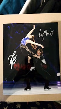 Scott and Tessa autographed photo