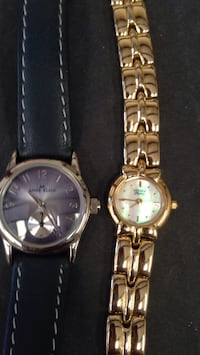 two round silver analog watches with link bracelets Atwater, 95301