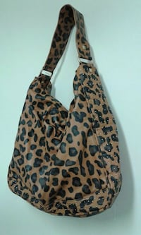 brown and black leopard print zip-up hoodie Port Coquitlam, V3C 3E6