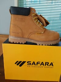 unpaired brown Timberland work boot with box Manassas, 20109