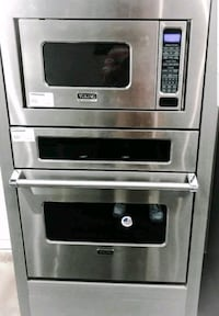 """Viking 30"""" convection steam microwave combination"""