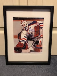 Edmonton Oilers Grant Fuhr Signed and framed photo Châteauguay, J6K 2A7