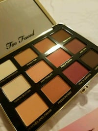 Too faced just peachy palette Vancouver, V5W 2H8