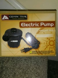 Electric pump/works great/small, easy to use Monroe, 28110
