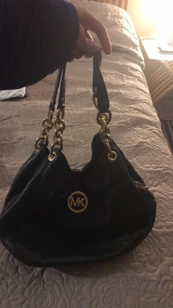 Authentic MK Leather purse