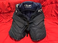 Blue RBK HPG sr L goalie pants Port Moody, V3H 3T4